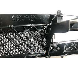 08-14 Mercedes C300 W204 3rd Brake Light Rear Deck Shelf Grill Trim