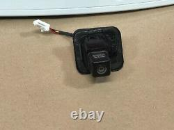 12-19 Nissan Versa SEDAN Trunk Lift Tail Gate Lid Panel Molding with Camera White