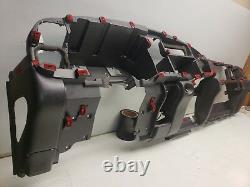 1998 98 Dodge Ram 1500 Dash Frame Core Mount Deck Assembly Charcoal Agate 1- Aux