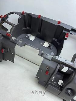 98-01 DODGE RAM 1500 DASH FRAME CORE MOUNT DECK ASSEMBLY AGATE CHARCOAL rm121