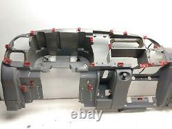 98-01 Dodge Ram 1500 Dash Frame Core Mount Deck Assembly Dark Mist Gray R33