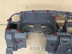 99 00 01 Dodge Ram 1500 2500 3500 Dash Frame Core Mount Deck Assembly Gray