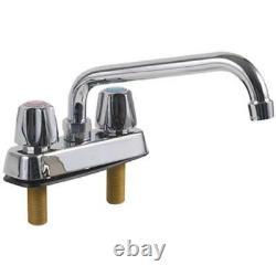 Faucet Commercial Deck Mount 8 Spout 4 Centers 13608