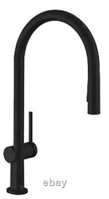 Hansgrohe Talis N 72800671 1.75gpm Kitchen Faucet With Pullout Matte Black