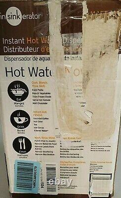 InSinkErato H-VIEW-SN Involve Hot Water Dispenser Satin Nickel Invite Hot100