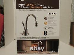 In SinkErator H-VIEW-SN Instant Hot Water Dispenser Faucet & Tank Satin Nickel