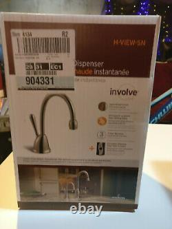 Insinkerator Involve Instant Hot Water Dispenser System Satin Nickel #H-VIEW-SN