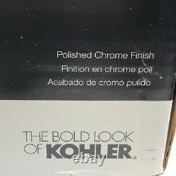 KOHLER Cavata 4 Center set bathroom sink faucet R1918-4D-CP Polished Chrome NEW