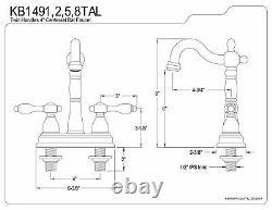 Kingston Brass Tudor 4 Center Bar Faucet
