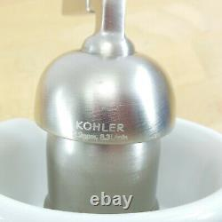 Kohler Bol K-11000-0-AA Center Hole White Ceramic Spout Faucet EUC