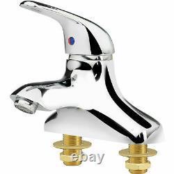 Krowne Royal Series 4 Center Deck Mount Single Lever Faucet, 14-520L