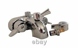 My PlumbingStuff RX2300J JUMBO Clawfoot Tub Add-a-Shower 60
