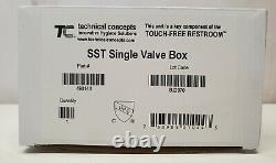 Rubbermaid Milano Hands-Free Sensor Faucet-Chrome-4 Center Deck Mounted-1782743