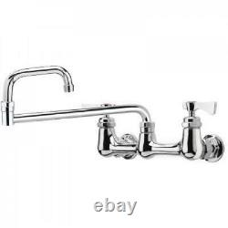 Series 8 inch Center Wall Mount Faucet 18 inch Jointed Spout