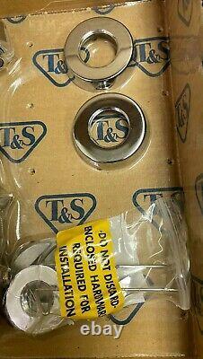 T&S B-2991 Lavatory Faucet Push Button Self-Closing Cartridges 8 Center- Chrome