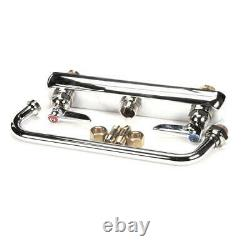 T&S Brass B-1122 Workboard Faucet, Deck Mount, 8 Centers, 10 Swin