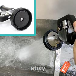 Yoogyy Commercial Pre-Rinse Sprayer Faucet 4-8 Inch Adjustable Center Deck Mount