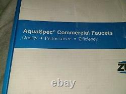 Zurn Z871C4-XL AquaSpec 8 Center Sink Faucet Commercial Grade