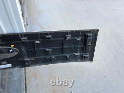 09 10 11 12 2009-2012 Ford Flex Limited Tailgate Trunk Panel Garniture Moule Oem