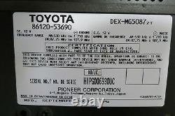 09-10 Lexus Is250 Is350 Am Fm Sat Aux Radio 6 Disc CD Changer Player P1821 Oem