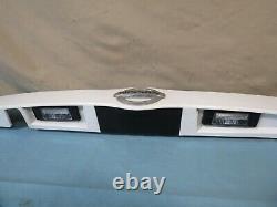 12-19 Nissan Versa Sedan Trunk Lift Tail Gate LID Panel Molding Camera Opt Oem