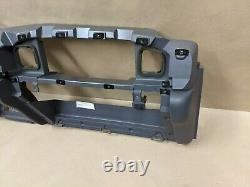 1998 98 Dodge Ram 1500 Dash Frame Core Mount Deck Assemblage Charcoal Mist Gray