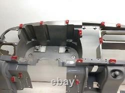 98-01 Dodge Ram 1500 Dash Frame Core Mount Deck Assemblage Dark Mist Gray R33
