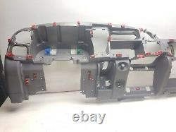 98-01 Dodge Ram 1500 Dash Frame Core Mount Deck Assembly Mist Gray