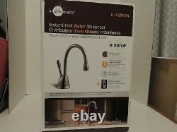 À Sinkerator H-view-sn Instant Hot Water Dispenser Robinet & Réservoir Satin Nickel