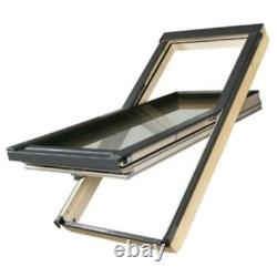 Ftt U8 Centre Pivot Deck-mounted Roof Window Thermo Quadruple Vitré