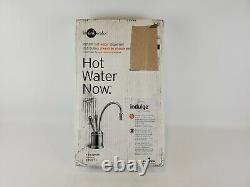 Insinkerator F-hc2215sn Indulge Toscane Robinet D'eau Chaude / Froide, Nickel Satin