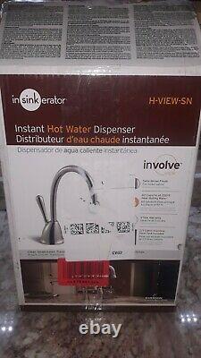 Insinkerator Impliquer H-view-sn Instant Distributeur D'eau Chaude Satin Nickel Nouveau