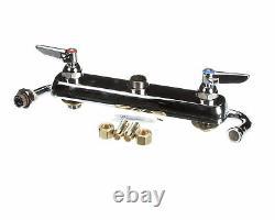 Robinet De Planche De Travail T-s Brass B-1123, Pont Mount, 8 Centres, 12 Swin